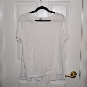 Old Navy White Patterned Shirt